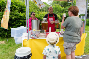 Het evenement Proef de natuur in het Voedselpark Den Haag in het Zuiderpark.